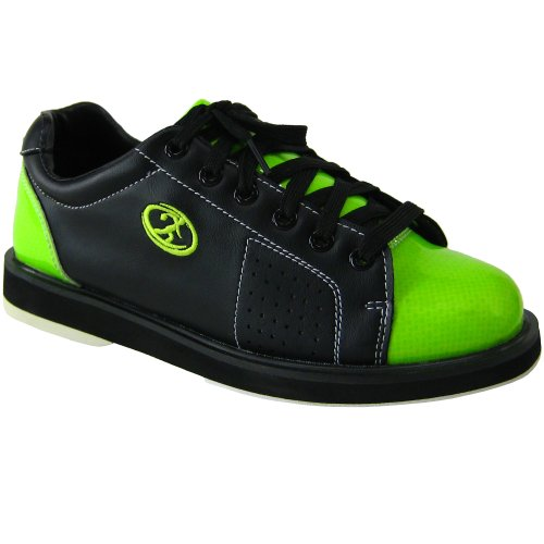 Elite Athena Black Lime Bowling Shoes - Womens 8