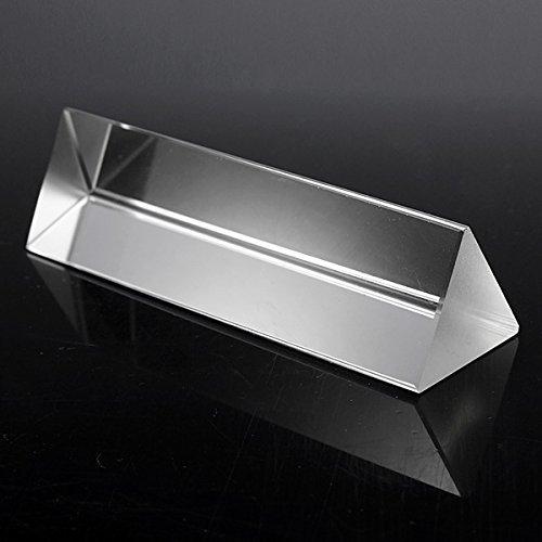 10cm Physik Optical Glass Dreibettzimmer Dreiecksprisma Electech Elec-A52-154