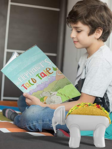 ELEPHANT TACO HOLDER - THE ULTIMATE MULTIPURPOSE FOOD HOLDER - KIDS BOOK FEATURING ELROY THE ELEPHANT TACO HOLDER by Glue Theory (Image #4)
