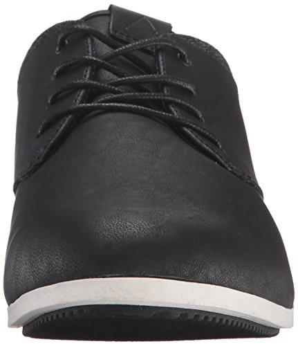 Aldo Men's Aauwen Fashion Sneaker, Black Leather, 10 D US