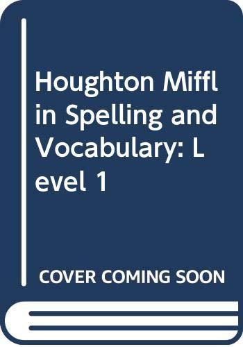 Houghton Mifflin Grolier Writer: Student Text Level  1 Paper 1994