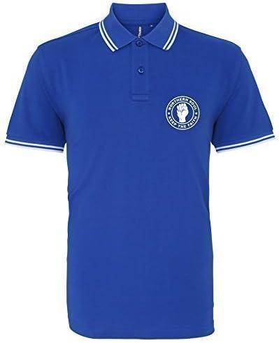 EBUK Northern Soul Keep The Faith Casual Mod Mens Premium Polo Shirt Unofficial