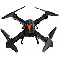 FLYZOE Foldable RC Drone FPV Wifi RC Quadcopter 2.4GHz 6-Axis Gyro Altitude Hold Remote with 2MP Camera Real-time Transmission