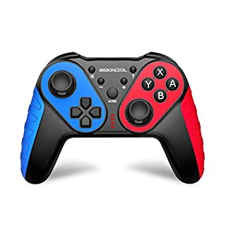 Wireless Switch Pro Controller for Nintendo Switch/Switch Lite,Switch Remote Control Gamepad Joypad for Nintendo Switch Console,Switch Joystick Controller with Turbo,Motion Control and Vibration