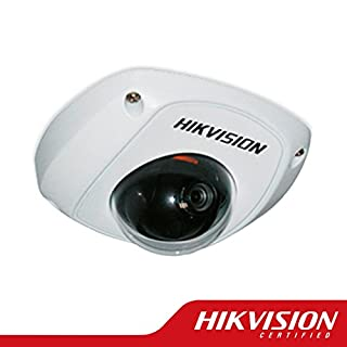 Hikvision DS-2CD2510F Mini Dome Network Surveillance HD Camera 1.3 MP 1280X960, 4mm Lens, Poe, Vandal Proof, IP66 Weatherproof, H.264/MJPEG, Day/Night Auto Switch, Micro SD/SDHC/SDXC Card Slot, 3D DNR