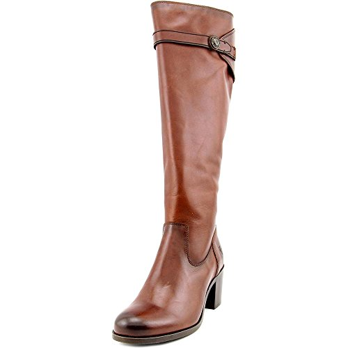 Smooth alto Redwood Vintage de mujer Frye Malorie de botón Leather YO1nwq10X8