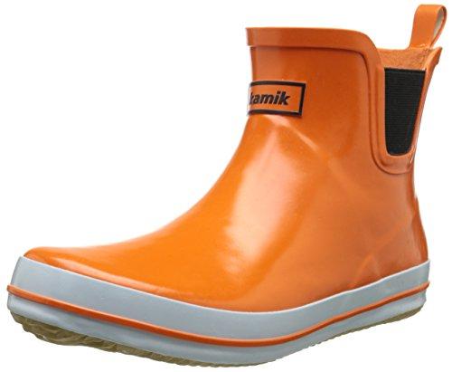 Kamik Women's Sharon Ankle-High Rain Boot Orange