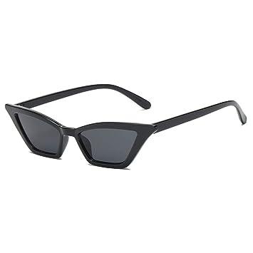 CCTYJ Gafas de Sol Pequeñas Gafas de Sol Cat Eye para ...