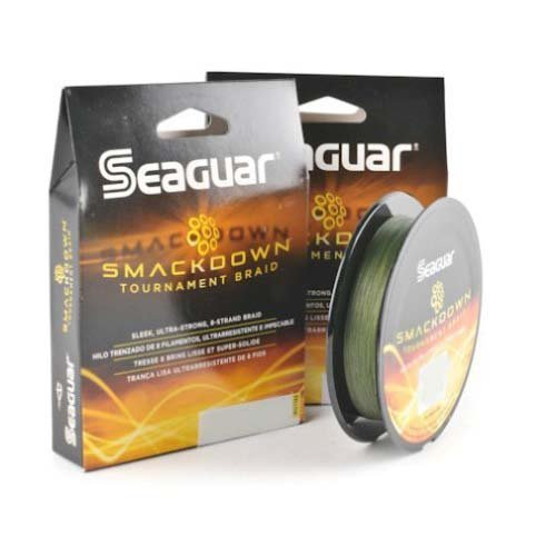 Seaguar Smackdown Braided Fishing Line, Green, 30-Pound/150-Yard by Seaguar