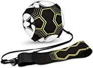 heaven2017 Adjustable Football Kick Trainer Soccer Kicker Throw Sole Training Aid Equipment Waist Belt