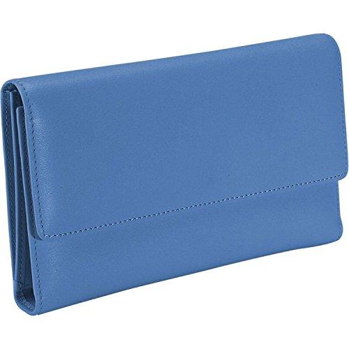 UPC 794809012363, Royce Leather Women's Bristol Checkbook Clutch,Blue,One Size