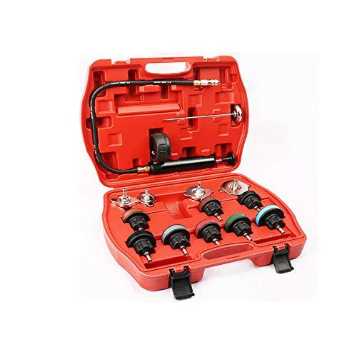 DSstyles 14pcs/Set Universal Cooling System Radiator Pressure Tester Gasket Test Kit Leak Detector by DSstyles (Image #1)