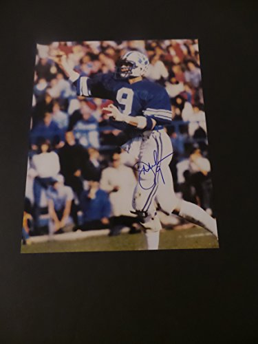 Jim McMahon Signed BYU Cougars Autographed 8x10 Photograph Cougar Byu Cougars Photograph