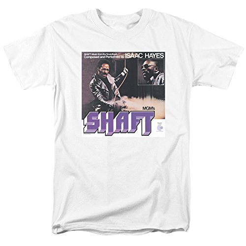 Isaac Hayes - Shaft T-Shirt Size XL (Best Of Isaac Hayes Xl)