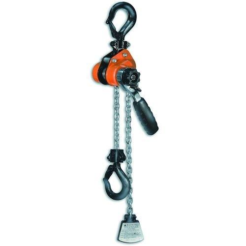Liftall 603MHX10 Series 603 Mini Ratchet Hoist, 1100 lb. Work Load Limit, 10'