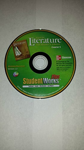 Glenco Literature The Reader's Choice Course 5 DVD StudentWorks Plus