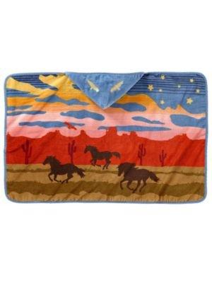 Pendleton Hooded Towel, Wild Horses