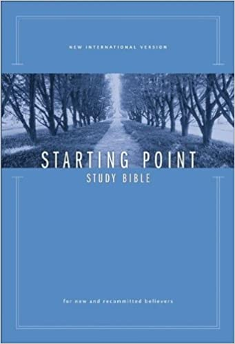 NIV Starting Point Study Bible: For New and Recommitted Believers