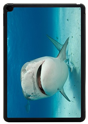 Rikki Knight Tiger Shark Nose Up Design iPad Air 2 Smart Case for Apple iPad Air 2 Full Coverage Ultra-thin smart cover (iPad Air ONLY - not for NEW iPad) (Keyboard Shark Air 2 Ipad)