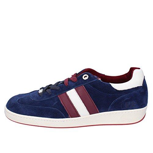 DAcquasparta Sneakers Herren Wildleder (44 EU, Blau)