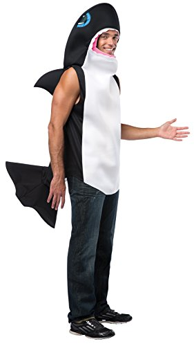 Killer Whale Adult Costumes (UHC Killer Whale Outfit Funny Comical Theme Party Halloween Fancy Costume, OS)