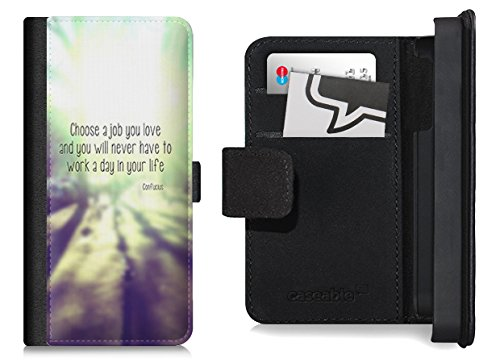 Flip Wallet Case / Etui für das iPhone 6 Plus mit Designer Motiv - ''Choose'' von caseable