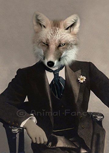 Fox Art Print - 'Talbot Fox'