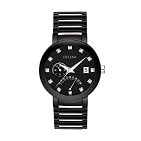 Bulova Men's Diamond Accent Watch