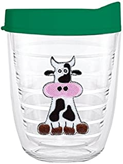 product image for Smile Drinkware USA-COW FELT 12oz Tritan Insulated Tumbler With Lid and Straw