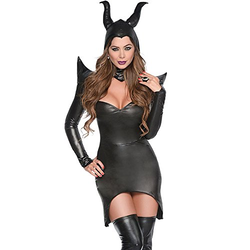 BYY Womens Dark Sorceress Costume Size M