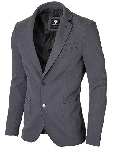 Cotton Two Button Coat - 7
