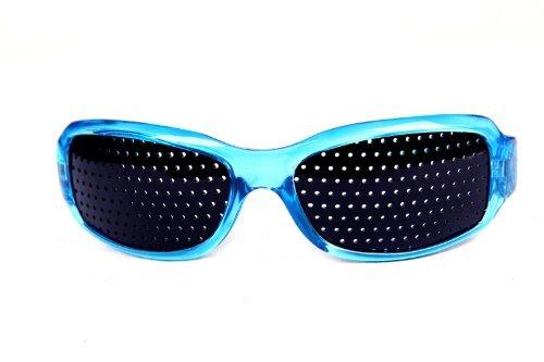 Unisex sténopé style lunettes de soleil Soins de la vue bleu UuJGmkEq