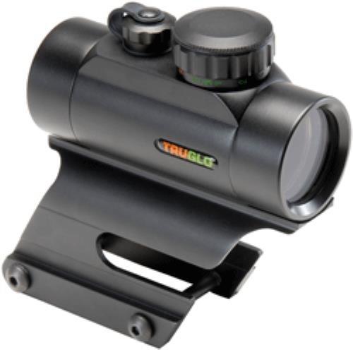 TRUGLO Red-Dot 30mm Dual-Color Remington Mount Black