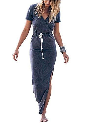 LIXIANSHI Women Dresses Casual Beach