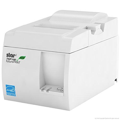 SQUARE POS HARDWARE BUNDLE - Star Micronics TSP143IIU 39464510 USB Printer and Epsilont Cash Drawer (USB Printer & Drawer White) by Star Micronics (Image #3)