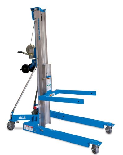 "Genie Super Lift Advantage, SLA- 10, 1000 lbs Load Capacity, Lift Height 11' 5.5"", Load & Transport with Single -"