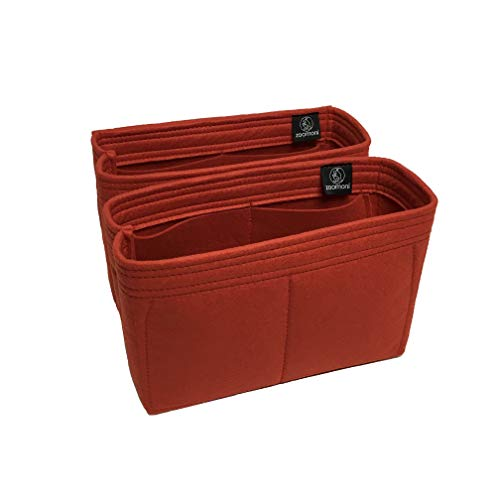166e41f802 Zoomoni LV Neo Noe Purse Organizer Insert - Premium Felt (Set of 2 /  Handmade
