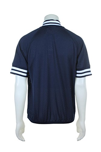 73d4a489c54 New York Yankees Mitchell   Ness MLB Men s Authentic 1 4 Zip Batting  Practice Jacket