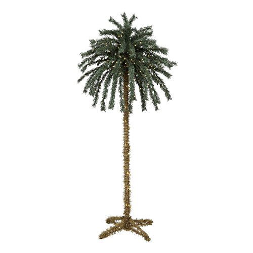 CTS 7 Foot Lighted Christmas Palm Tree - 300 Lights - Indoor/Outdoor [I] - Jimmy Buffett Tiki by CTS (Image #1)