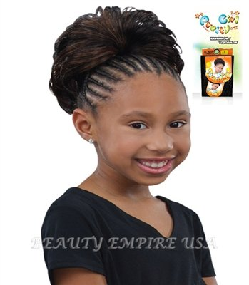 Amazon Synthetic Drawstring Kids Ponytail Pretty Girl Ganet
