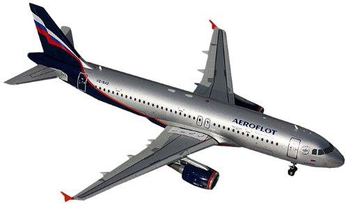 Gemini Jets Aeroflot A320 Diecast Aircraft (1:200 Scale)