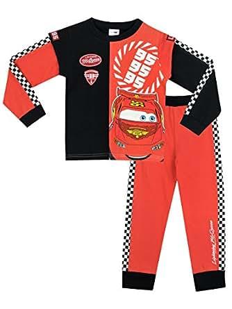 Disney Cars - Pijama para Niños - Cars Lightning McQueen - 7 - 8 Años