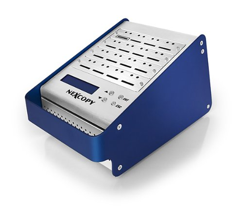 Nexcopy 16 Port Standalone SD Duplicator 1 Master to 15 Target by Nexcopy