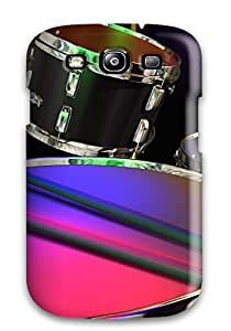 Slim Fit Tpu Protector Shock Absorbent Bumper Drums Music People Music Case For Galaxy S3