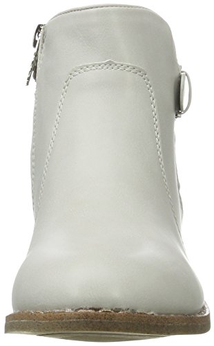 XTI Damen Ice PU Combined Ladies Ankle Boots Bootsschuhe Grau (Ice)