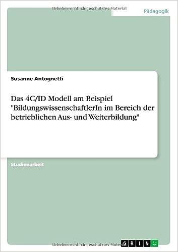 Das 4C/ID Modell am Beispiel