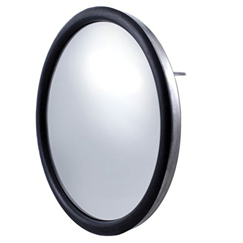 Round Stainless Mirror ((2) 8.5