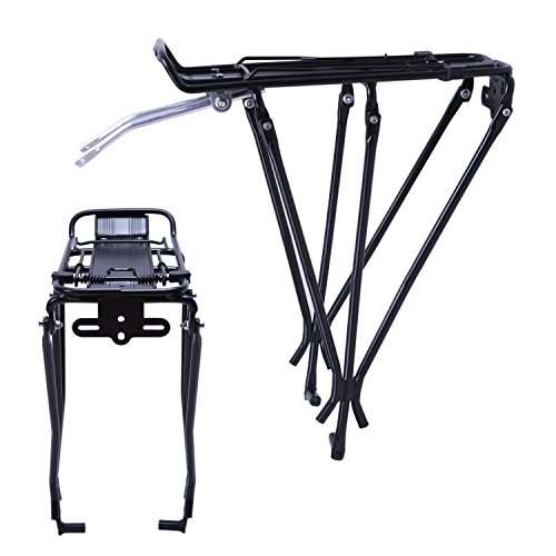 (Vilobyc Bicycle Rear Cargo Rack Carrier Luggage Rack Pannier Rack for Disc Brake Bikes)