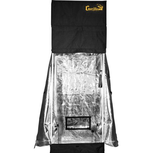 24 x 30 x 71 in. - Gorilla Grow Tent - 83 in. with Height Extension Kit - Infrared Blocking Roof - Flood Proof Flooring - GGT22