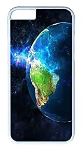3D Earth Custom iPhone 6 4.7inch Cases Cover Polycarbonate White
